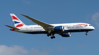A picture of GZBJG - Boeing 7878 Dreamliner - British Airways - © Sebastian Thiel