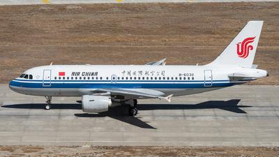 B-6038 - Airbus A319-115 - Air China