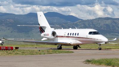N604QS - Cessna Citation Latitude - NetJets Aviation