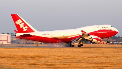 N744ST - Boeing 747-446(BCF) - Global Super Tanker Services