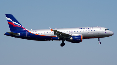 VP-BZO - Airbus A320-214 - Aeroflot