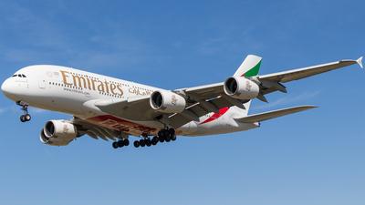 A6-EOS - Airbus A380-861 - Emirates