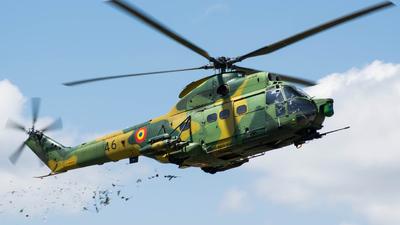 46 - IAR-330L Puma SOCAT - Romania - Air Force