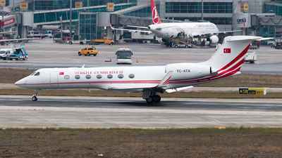 TC-ATA - Gulfstream G550 - Turkey - Government