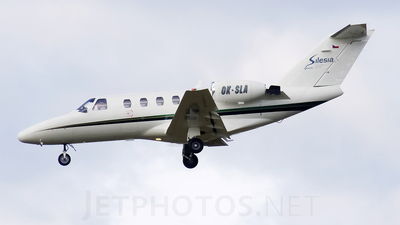 OK-SLA - Cessna 525 CitationJet 1 - Silesia Air
