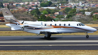 A picture of N888RT - Cessna 560XLS Citation Excel + - [5606033] - © Jorge andres solano sancho
