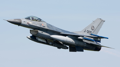 J-005 - General Dynamics F-16AM Fighting Falcon - Netherlands - Royal Air Force