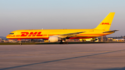 A picture of DALES - Boeing 7572Q8(PCF) - DHL - © Carlos Miguel Seabra