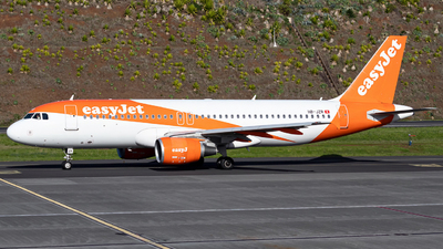 A picture of HBJZR - Airbus A320214 - easyJet - © Guilherme Sousa