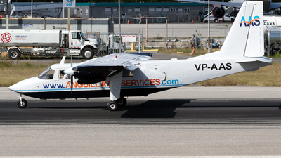 VP-AAS - Britten-Norman BN-2A-26 Islander - Anguilla Air Services