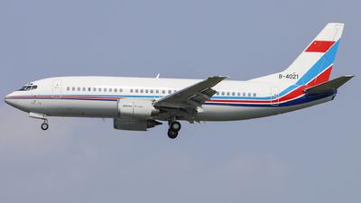 B-4021 - Boeing 737-34N - China - Air Force