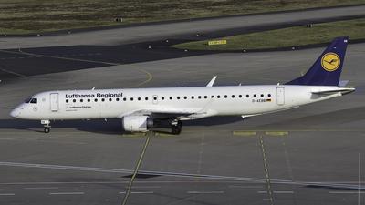 A picture of DAEBB - Embraer E195LR - Lufthansa - © Jonas Härtel