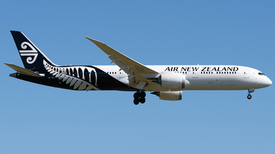 ZK-NZJ - Boeing 787-9 Dreamliner - Air New Zealand