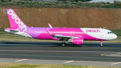JA10VA - Airbus A320-214 - Peach Aviation