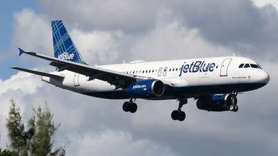 A picture of N566JB - Airbus A320232 - JetBlue Airways - © Mark Lawrence