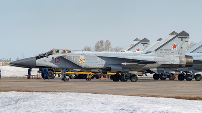 RF-90893 - Mikoyan-Gurevich MiG-31BM Foxhound - Russia - Air Force