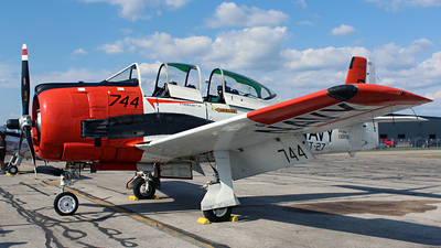 N28TY - North American T-28B Trojan - Private