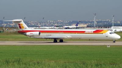 EC-FND - McDonnell Douglas MD-88 - Iberia