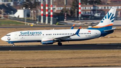 TC-SNT - Boeing 757-2Q8 - SunExpress