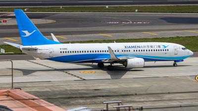 A picture of B6482 - Boeing 73785C - Xiamen Air - © Cheng Wei Ho