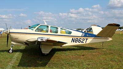 N862T - Beechcraft S35 Bonanza - Private