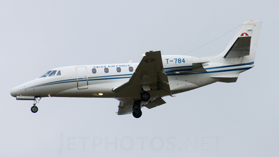 T-784 - Cessna 560XL Citation Excel - Switzerland - Air Force