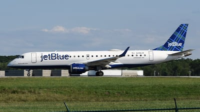 A picture of N294JB - Embraer E190AR - JetBlue Airways - © DJ Reed - OPShots Photo Team