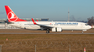 A picture of TCJHM - Boeing 7378F2 - Turkish Airlines - © marfi80