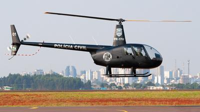 PR-YFH - Robinson R44 Raven II - Brazil - Policia Civil