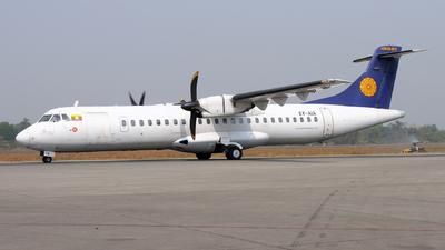 XY-AIA - ATR 72-212 - Myanma Airways