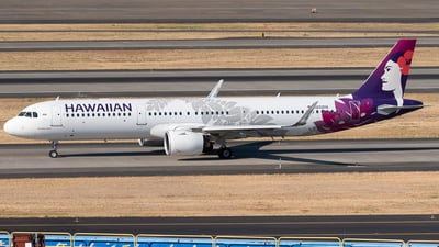 A picture of N202HA - Airbus A321271N - Hawaiian Airlines - © Nick Michaud
