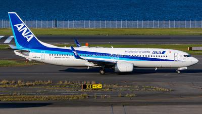 A picture of JA87AN - Boeing 7378AL - All Nippon Airways - © Shogo Kawai