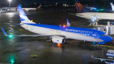 LV-FXQ - Boeing 737-8MB - Aerolineas Argentinas