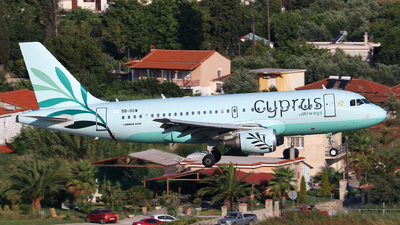A picture of 5BDCW - Airbus A319114 - Cyprus Airways - © Dave Potter