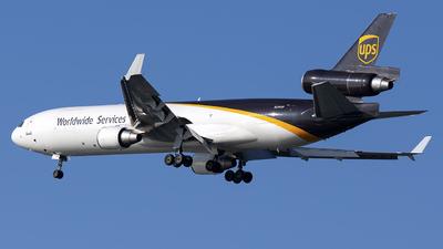 N296UP - McDonnell Douglas MD-11(F) - United Parcel Service (UPS)