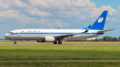 EW-438PA - Boeing 737-86Q - Belavia Belarusian Airlines