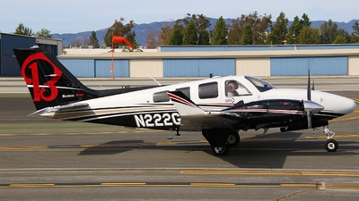 N222GS - Beechcraft 58P Baron - Private