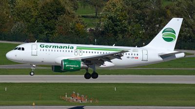 HB-JOH - Airbus A319-112 - Germania Flug