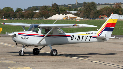 G-BTYT - Cessna 152 - Sussex Flying Club