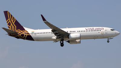 A picture of VTTGE - Boeing 7378AL - Vistara - © Aneesh Bapaye