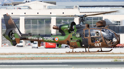 4136 - Aérospatiale SA 342M Gazelle - France - Army