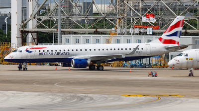 EI-GTF - Embraer 190-100LR - BA CityFlyer