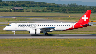 A picture of HBAZD - Embraer E190E2 - Helvetic Airways - © Raphael Oletu
