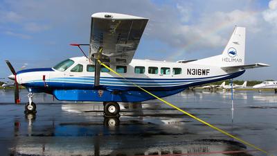 A picture of N316WF - Cessna 208B Grand Caravan - [208B5316] - © Kukulkan Avia