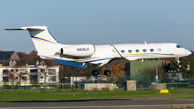 N818LF - Gulfstream G550 - Private