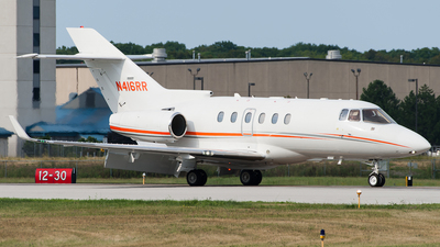 N416RR - Hawker Beechcraft 900XP - Private