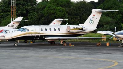 PK-RSO - Cessna 650 Citation VII - Enggang Air Services