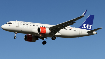A picture of EISIH - Airbus A320251N - SAS - © subing27