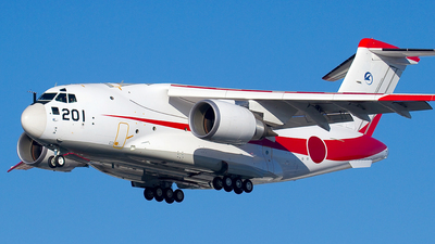 08-1201 - Kawasaki XC-2 - Japan - Acquisition, Technology & Logistics Agency (ATLA)