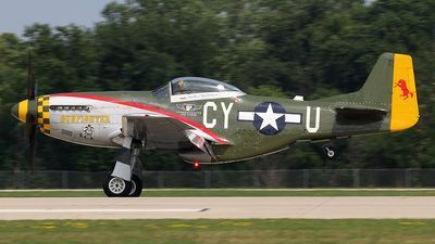 N5428V - North American P-51D Mustang - Commemorative Air Force